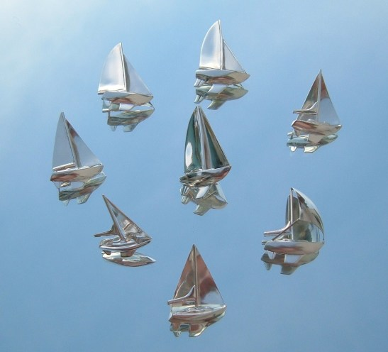Sailboat pendant collection