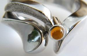 topaz & silver